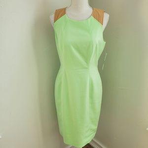 Antonio Melani Sprout and Tan Dress 8